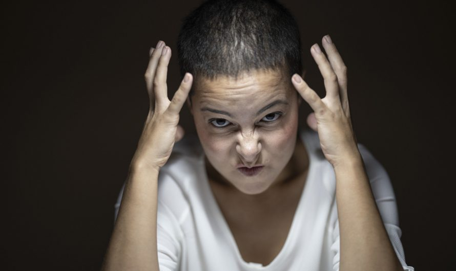 Как женщине справится с гневом!